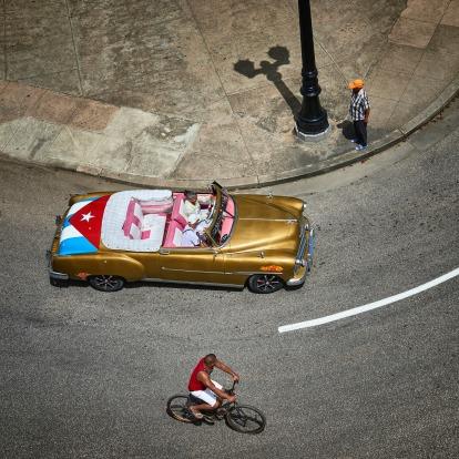 I visited Cuba in September this year and this image was taken in Cienfuegos.  There was a tall tower above the main ...