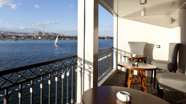 View from the Lounge Terrace onboard the MS Mayfair.
