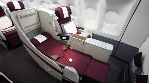Qatar Airways' seat has excellent storage, is comfortable and clean, with everything in good working order.