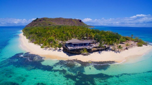 Iso-holidays could be possible for Australians at Vomo Island resort, Fiji.