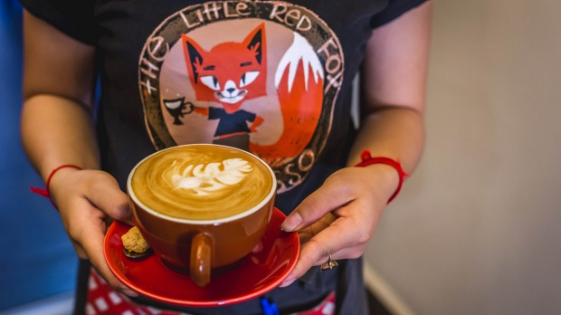 Shopping requires caffeine – get your fix at The Little Red Fox.