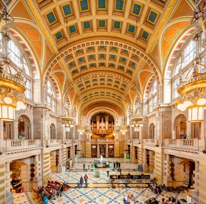 Glasgow's Kelvingrove Art Gallery and Museum.
