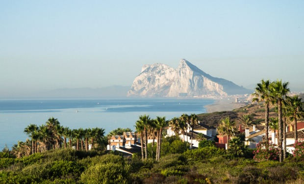 The straits of Gibraltar.