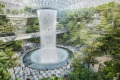 Jewel Changi Airport's magnificent Forest Valley. Changi Jewel, Singapore.? Stroy by Stephen Clark life & Leisure.