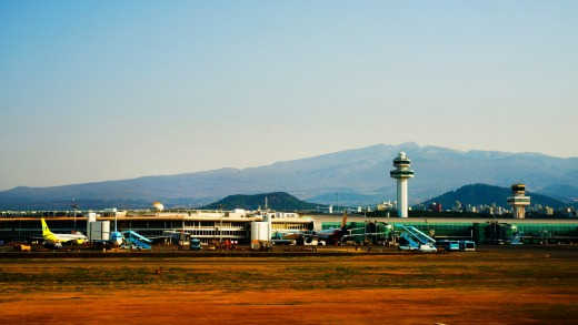 Jeju International Airport handles more than 26 million passengers annually.