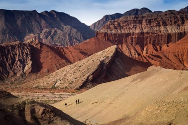 Exploring the Quebrada, near Cafayate in northern Argentina feels like going into another world.