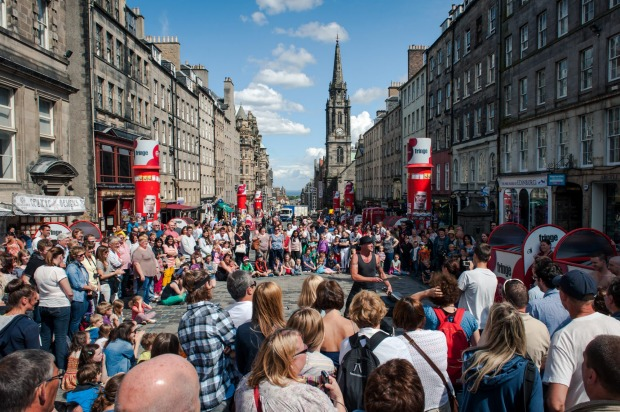8. The Royal Mile, Edinburgh. The main street of the Scottish capital's Old Town actually comprises several streets that ...
