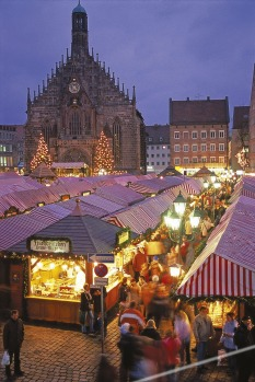 Christmas markets at Nuremberg.