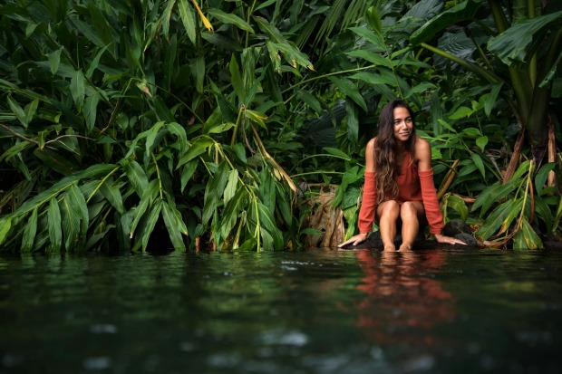 Exploring Vaima Springs on Tahiti's southern coast with island local Elodie. Always a popular local spot, we were ...