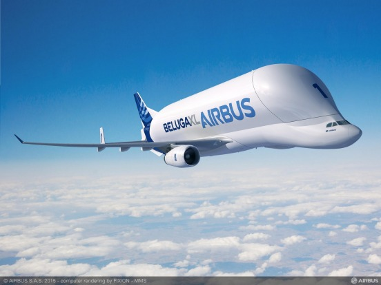 Airbus has introduced an even larger Beluga, the XL, based on an Airbus A330.