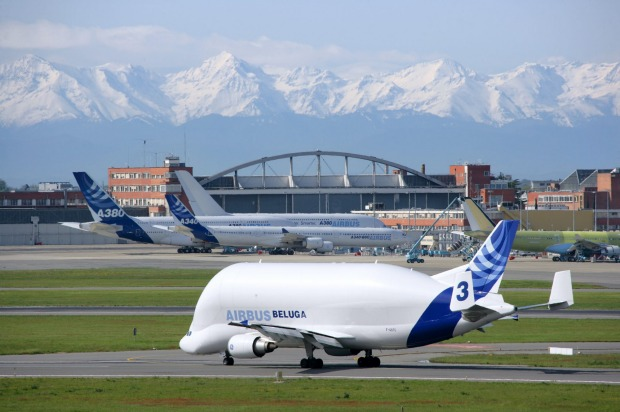 The Airbus Beluga. This bizarre-looking plane is named for its similarity in shape with the beluga whale – both are ...