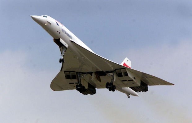 The supersonic Concorde first flew in 1969 and entered commercial service in 1976. It flew the trans-Atlantic route, New ...