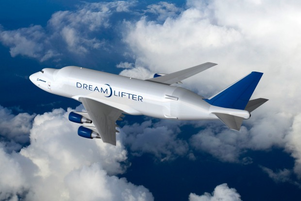 Boeing's version of the Beluga is the Dreamlifter, a modified 747 jumbo jet that, as the name suggests, was created to ...