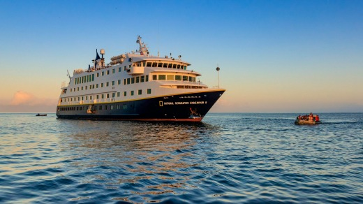 National Geographic Endeavour II will sail year-round in the Galapagos Islands.