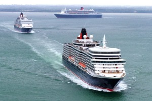 Sail on the three Cunard queens with this package that is now nearly half price.
