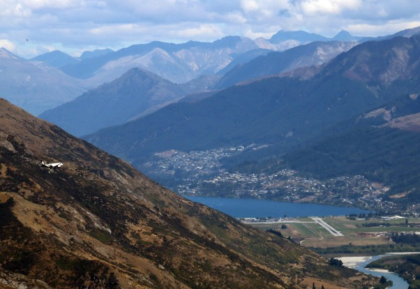 QUEENSTOWN, NEW ZEALAND. On the edge of Lake Wakatipu, this is another airport where topography requires a precision ...