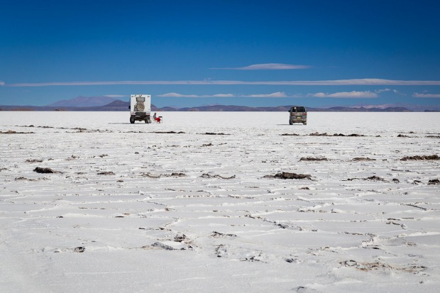 The Salar de Uyuni in Bolivia gets its reputation for an obvious reason.   Visiting in the drier months when the water ...