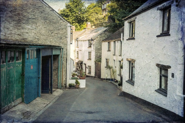 Polperro, UK is a quaint little fishing village on the south coast walking track.
