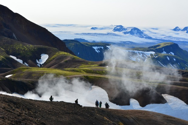 The Laugavegur trek is Iceland's premier walking trail and one of National Geographic's 'twenty world's best hikes'. The ...