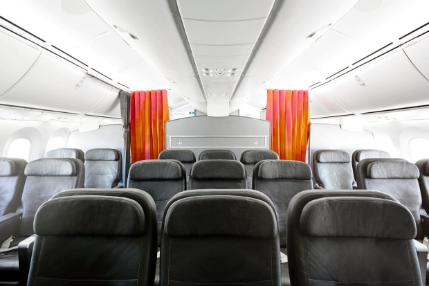 Jetstar 787 Dreamliner business class.