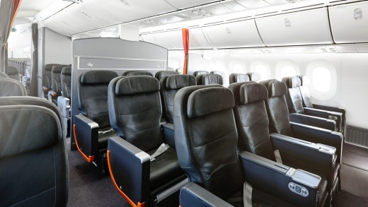 airline review jetstar 787 dreamliner business class melbourne to