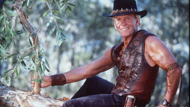Crocodile Dundee has a log to answer for.