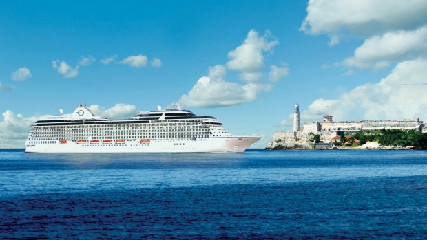 NCLH's first cruise to Cuba is on Oceania Marina.