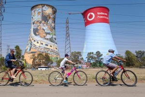 Orlando Towers were once part of a coal-fired power plant. They are now used for concerts and adventure sports.