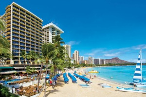 Outrigger Waikiki Beach Resort.