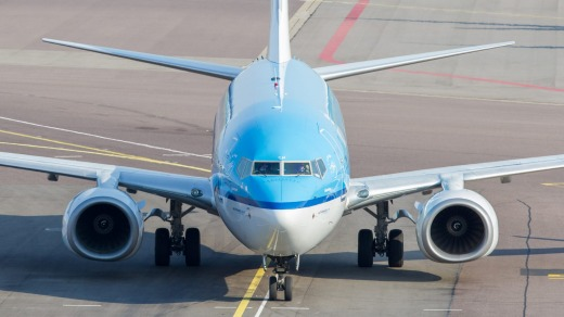 Need to arrive on time? You're in good hands flying with Dutch airline KLM.