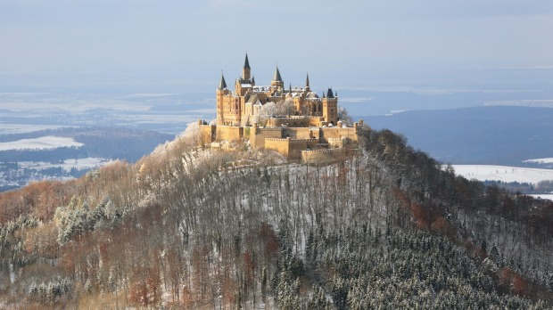 Castle Hohenzollern in Germany.