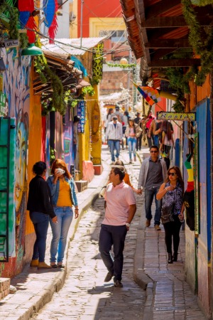 Bogota, Colombia: Every part of the world is accessible through guided tours.