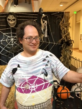 Sam Barsky does spooky spiders.