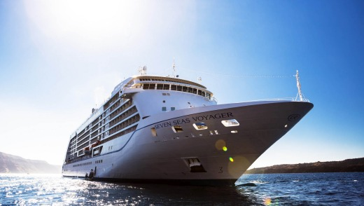 Regent's Seven Seas Voyager sailed out of Sydney last week after a bow-to-stern refurbishment.