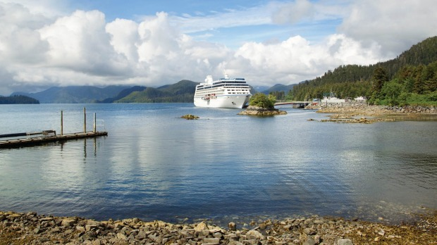 Oceania Regatta in Alaska for International Cruises.