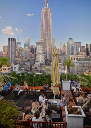 230 fifth Rooftop bar, New York.