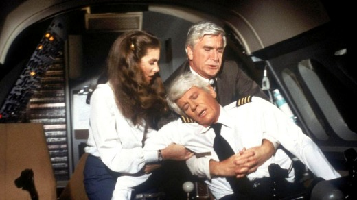 If Flying High taught us anything, it's that the flight crew should never, under any circumstances, be served the same meal.