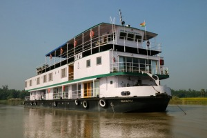 MV Varuna on the River Ganges.