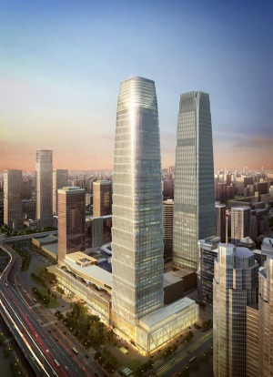 HOTEL JEN BEIJING. OPENING: January. In the first 22 floors of the China World Trade Centre development in Beijing's ...