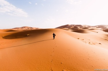 """Where the soul wanders the heart follows"". After arriving into the Sahara to a sopping wet welcome we woke the ..."