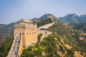 Avoid the crowds: walk the wall at Jinshanling, where the Wall lays like a thread of stretched gold across the ridge ...