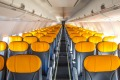 No frills: On board Australian carrier Tigerair, which is the world's cheapest, according to new figures.