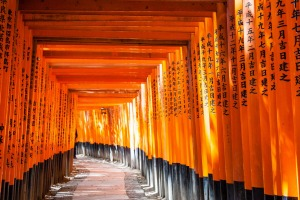 Fushimi Inari-Taisha Shinto shrine.