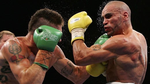 Danny Green v Anthony Mundine: The pair will meet at the Adelaide Oval in 2017.