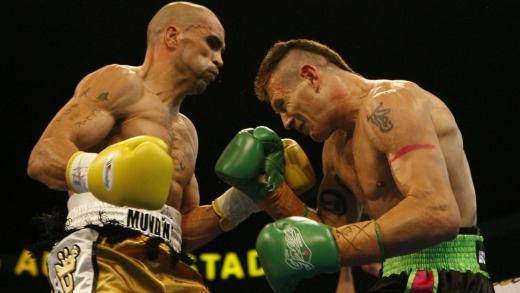 Danny Green v Anthony Mundine: The pair first met in 2006.