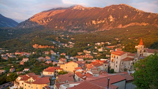 Sunset at Maratea.