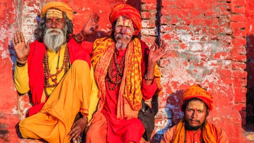 In Hinduism, sadhu, or shadhu, is a common term for a mystic, an ascetic, practitioner of yoga (yogi) and/or wandering ...