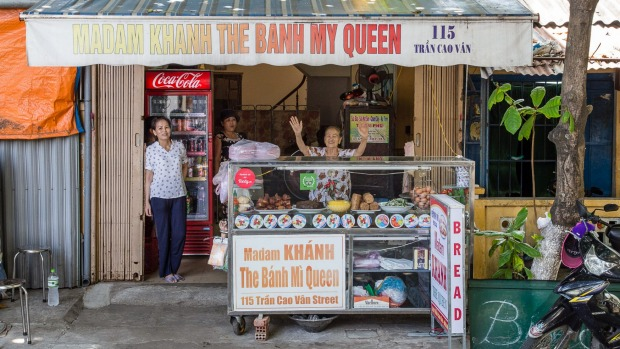 The queen of banh mi.