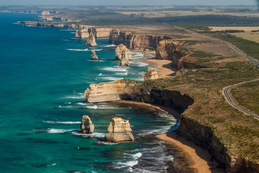 The Twelve Apostles, Great Ocean Road, Victoria, Australia.