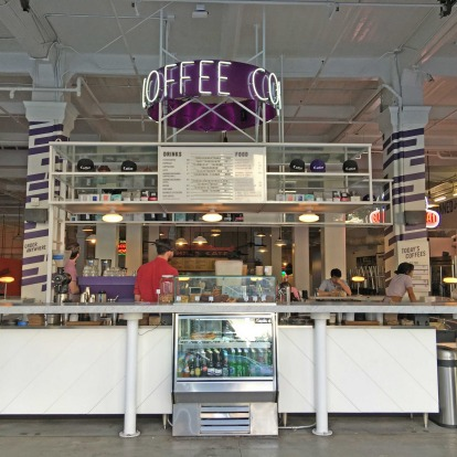 G&B Coffee in the Grand Central Markets.